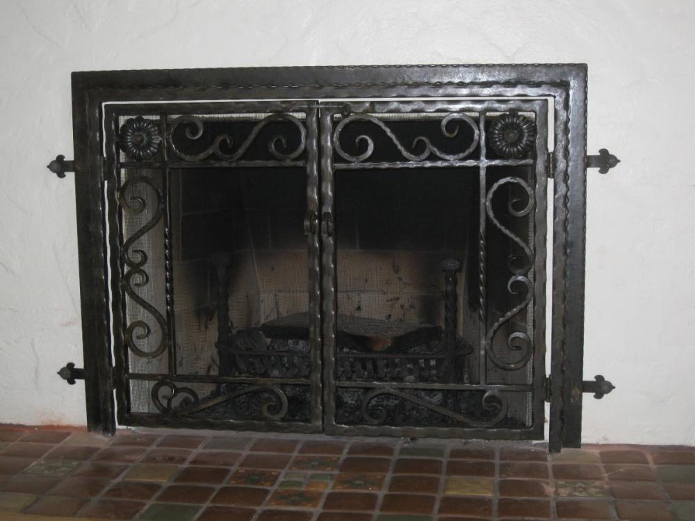 Craftsman Fireplace Doors