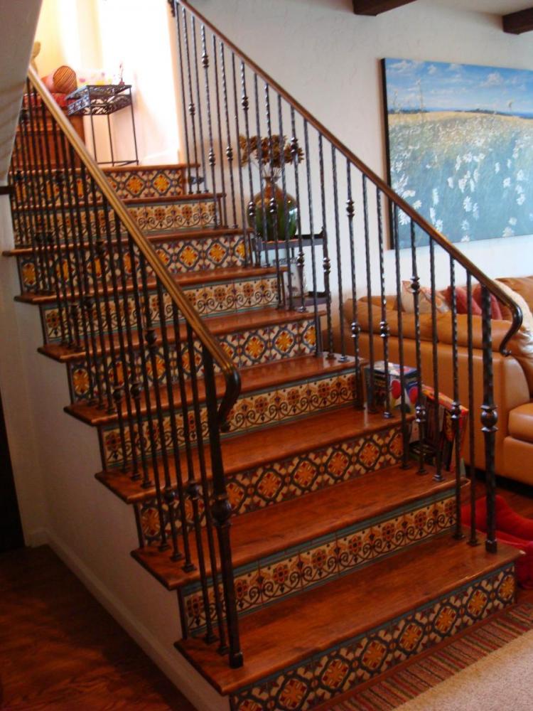 Hacienda Stairwell