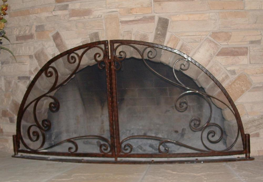 Kiva Style forged Screen